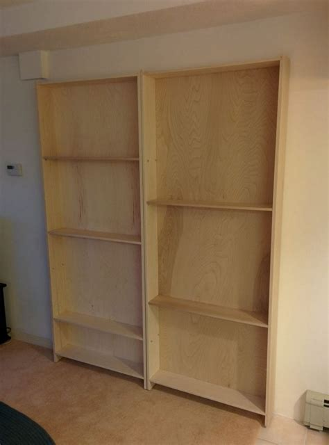 Bookcase Hinges by Diy Bookcase Door Your Projects Obn