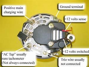 Generator Mercruiser 5 7 L - Motorb U00e5tsnack