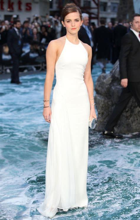 Emma Watson Stuns Ralph Lauren Dress Noah Premiere
