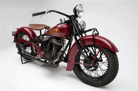 Indian Motorcycles 1901-55 Originally And Currently The