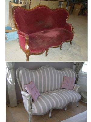canap 233 ancien revisit 233 canap 233 avant apr 232 s vous avez relook 233 un meuble relooking meubles