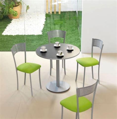 chaise cuisine couleur table draco chaises couleur inox et vert cuisine