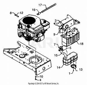 Mtd 13ax674g401  1999  Parts Diagram For Engine