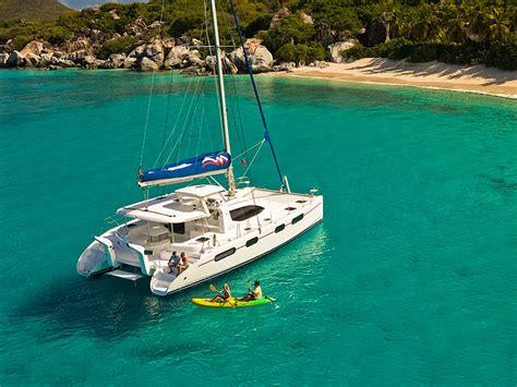 Catamaran Yacht Charters In Bvi by Moorings 4600 4 Cabin Crewed Catamaran The Moorings