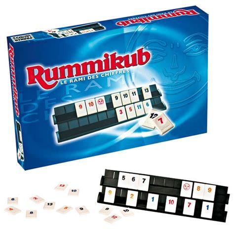 siege pour jeux rummikub chiffres hasbro king jouet jeux de réflexion