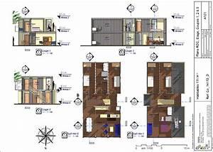 Numéro De Maison Design : plan maison 3 chambres etage maison plan maison vide ~ Dailycaller-alerts.com Idées de Décoration