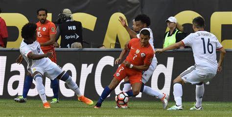 Copa america highlights & full matches. Copa América 2016   Colombia 0- 2 Chile: Resultado y goles ...