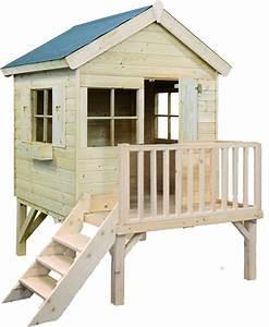 Maison Pour Enfant En Bois : maisonnette bois pas cher ~ Premium-room.com Idées de Décoration