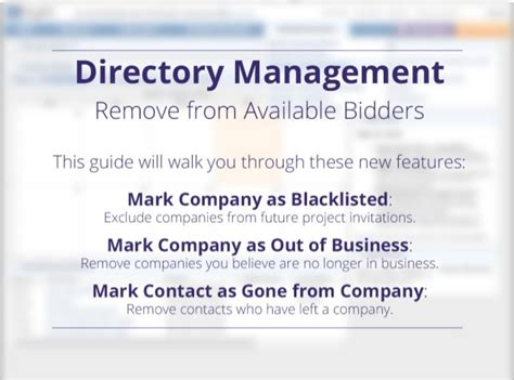 Isqft Directory Management