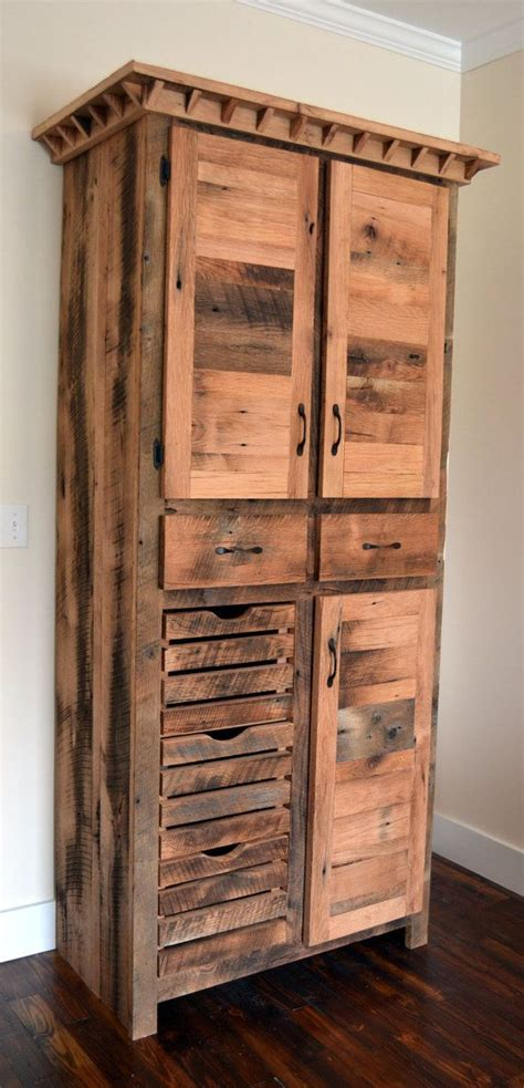 kitchen craft pantry cabinet reclaimed barnwood pantry cabinet diy home improvements