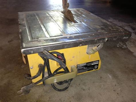 thd550 tile cutter espotted