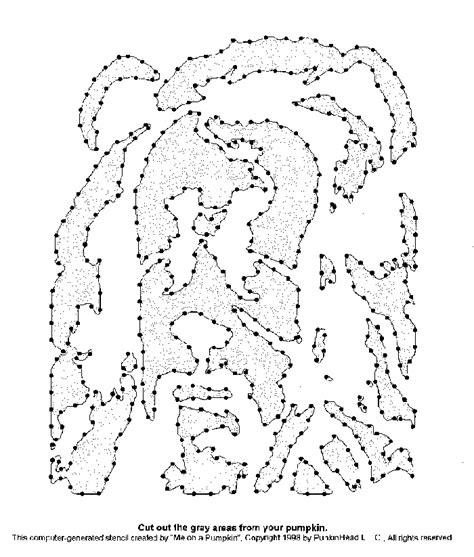Cowardly Lion Pumpkin Carving Stencil Pumpkin Carvings