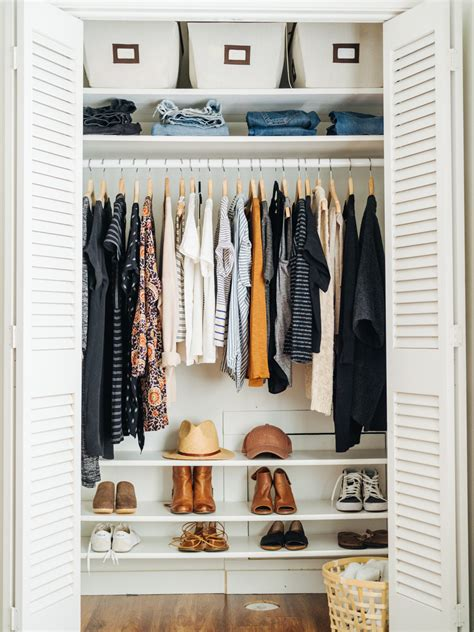Small Closet by Small Reach In Closet Organization Ideas The Happy Housie