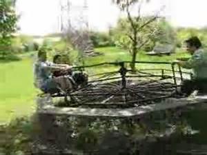 Vintage Playground Merry Go Round