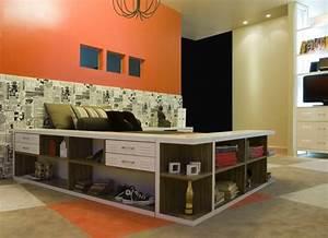 Aménagement Petite Chambre Ado : id es d am nagement pour votre petite chambre coucher ~ Teatrodelosmanantiales.com Idées de Décoration