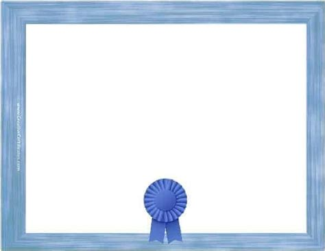 Free Blank Certificate - Print blank or customize online free
