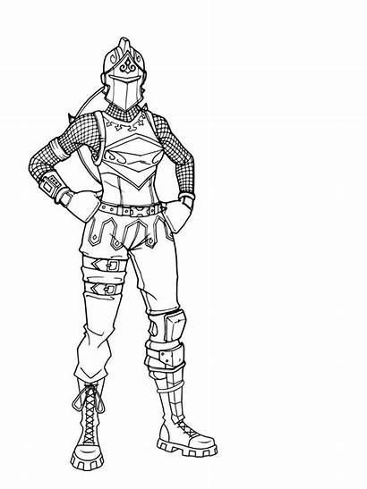 Fortnite Coloring Skins Coloriage Sheets Colouring Colorier