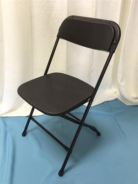 chair folding black rentals lansing mi where to rent