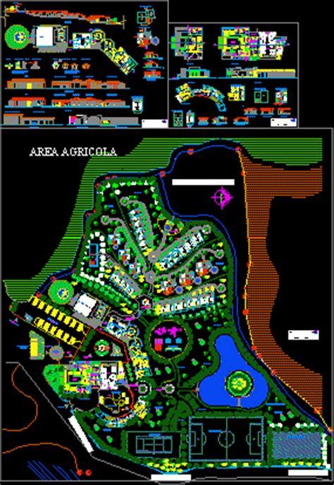 resort  dwg design section  autocad designs cad