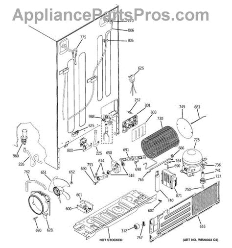 zfsbdxss ge monogram side  side   unclog refrig side evap drain diy appliance