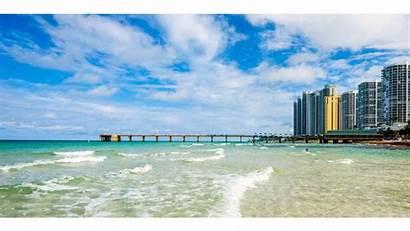 Beach Miami Florida South Wallpapers 4k Fishing