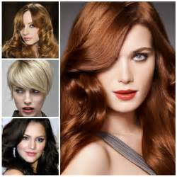 2017 Hair Color Trends Fall Winter