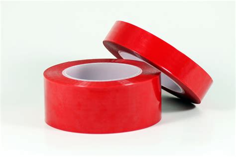 red polyester plating tape
