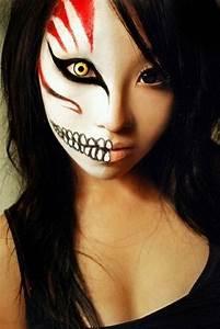 Modele Maquillage Carnaval Facile : maquillage facile pour halloween modele maquillage sorciere blog festimania ~ Melissatoandfro.com Idées de Décoration