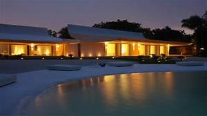 Caribbean House Design - Curved Roof Beachfront Home ...