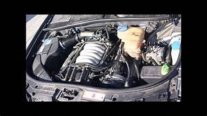 Audi A6 C5  2 4 V6 Quattro  Avant  Manual Trans  - Engine Movement
