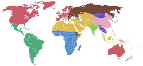 Clash of Civilizations Map