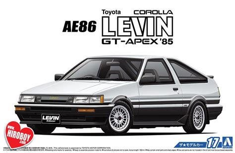 toyota ae corolla levin gt apex  aos