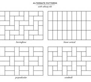 kitchen backsplash subway tile patterns subway tile layouts for kitchen backsplashes