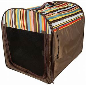 new folding foldable collapsible fabric dog crate carrier With collapsible fabric dog crate