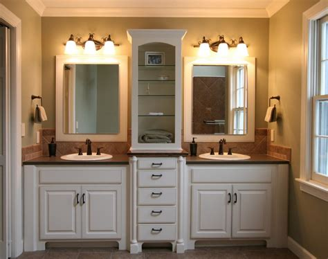 bathroom cupboard ideas how to decor a small blue master bath actual home actual home