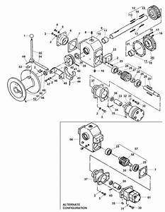 Winch  U0026 Transmission With Motor