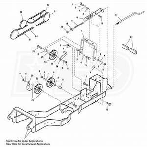 Simplicity 1695196 Subframe  U0026 Hitch For Snow Blowers