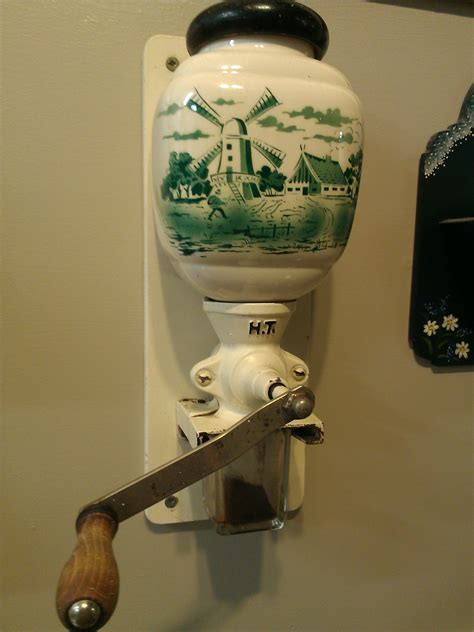 All of us have heard of this adage. Old-fashioned Dutch coffee grinder.