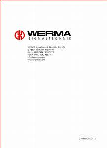 Werma De 78604 Wiring Diagram Collection
