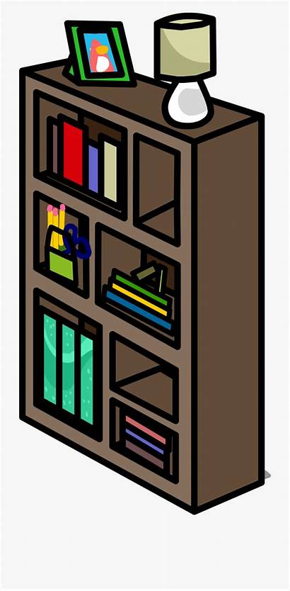 Bookshelf Wooden Sprite Funky Clipart Netclipart