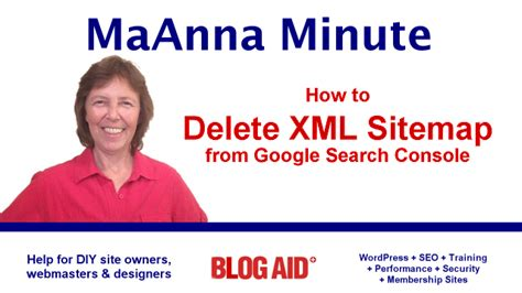How Delete Old Xml Sitemap From Google Search Console
