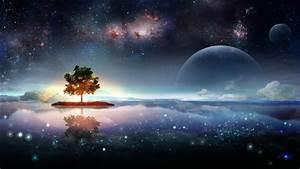 Planetscape sci-fi planet landscape space art artwork ...