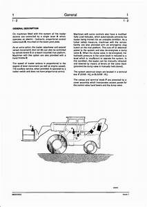 Jcb Loadall 530b Hl 525b Hl Telescopic Handler Service Repair Manual