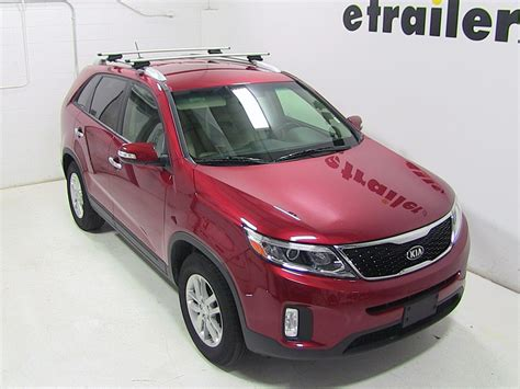 kia roof rack thule roof rack for kia sorento 2014 etrailer