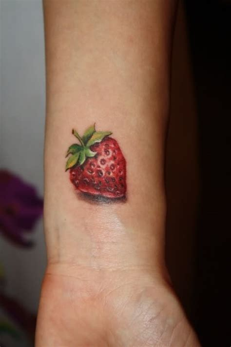 strawberry tattoo designs ideas  meaning tattoos