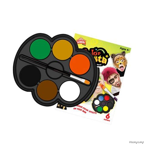 colors amos amos color paint kit safari colours of 6