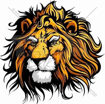 Lion Clipart Vector Graphic Mascot Clip Artwork