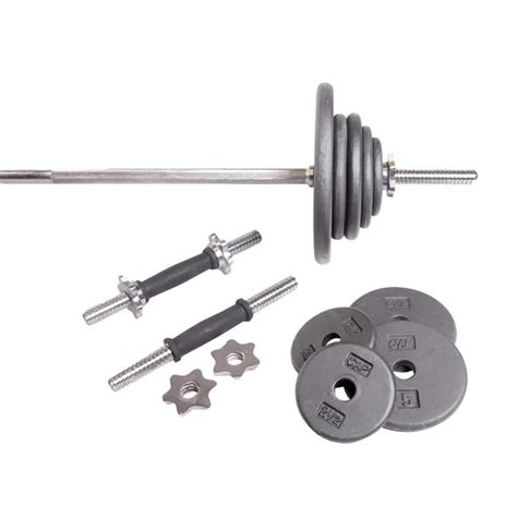 cap barbell standard grey  pound weight set  overstock shopping   prices