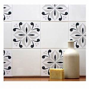 Ventnor grey tile tattoos from mibo lighting and homewares for Kitchen tile decals