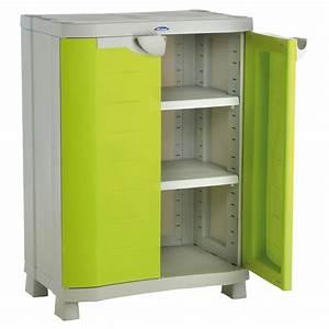 Armoire Basse Exterieur : armoire rangement exterieur ~ Teatrodelosmanantiales.com Idées de Décoration